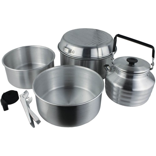 Yellowstone 6 Piece Cook Set with Kettle | CA1200