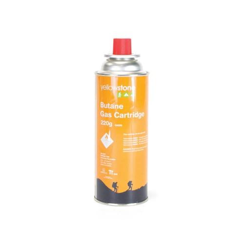 Yellowstone 220g Butane Gas Cartridge 4 pk | GA009