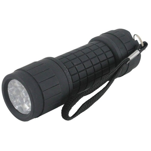 Yellowstone 9 LED Rubber Finish Torch | LT022